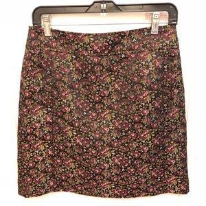 Floral Embroidery Loft Skirt